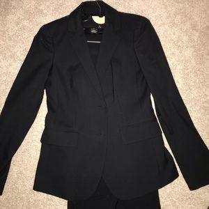 Size 0 Jcrew Black Pants Suit